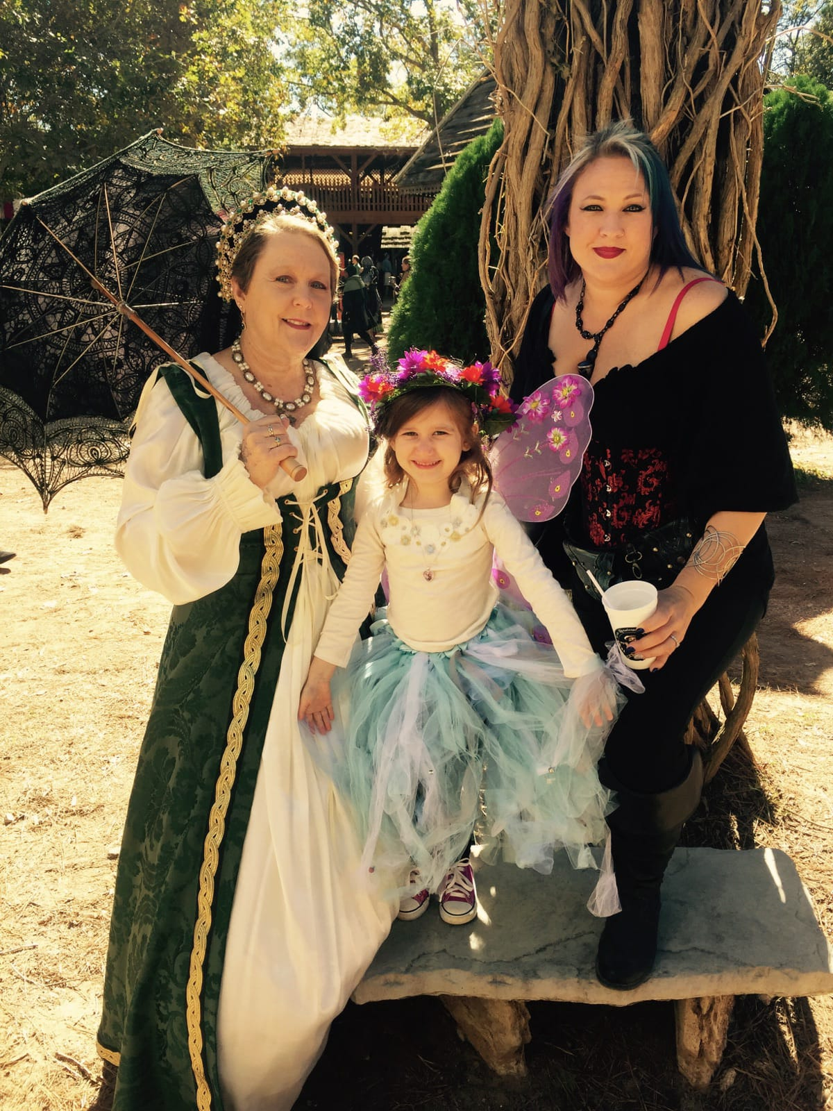 3 Generations Of Faire. Photo By Patti Trapani