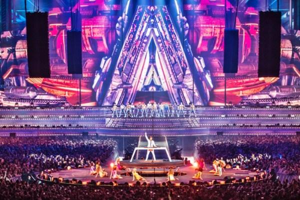 Armin Van Buuren Lights Up Amsterdam