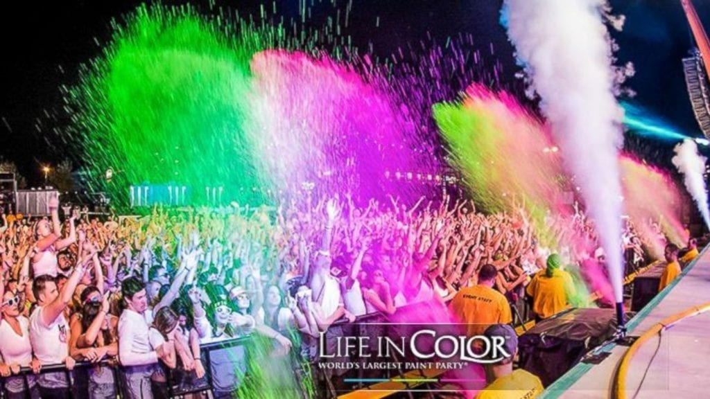 Life In Color: Miami's Hottest Paint Party