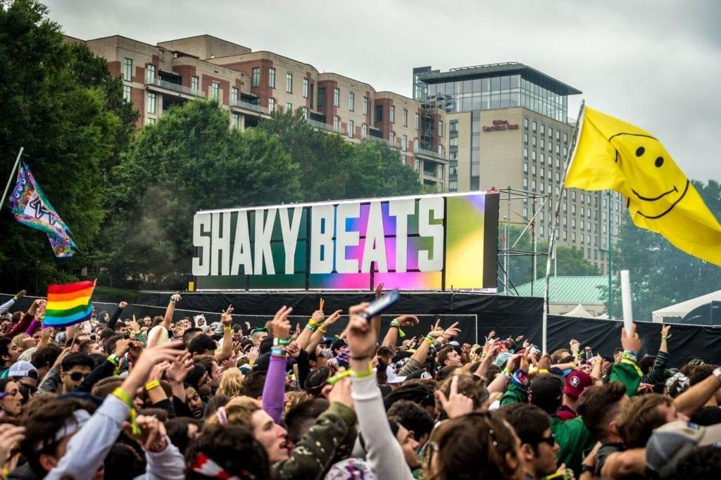 Shaky Beats Lineup 2018