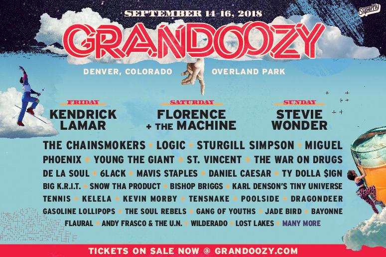 Grandoozy: Denver's New Big Festival!