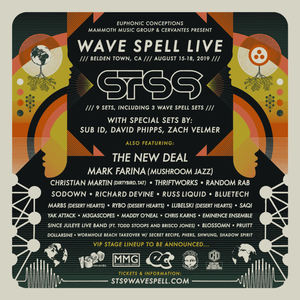 Wave Spell Live  – STS9