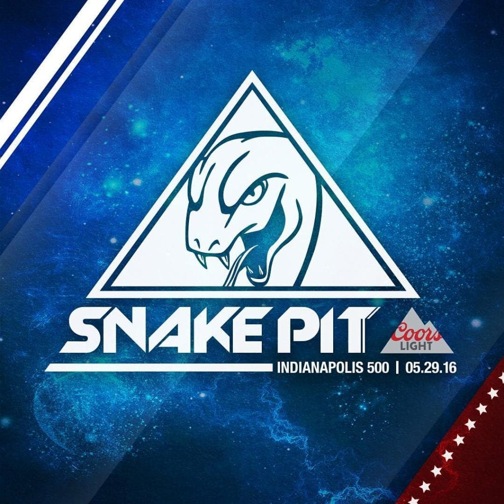Indy 500 Snake Pit: 2019 Set Schedule