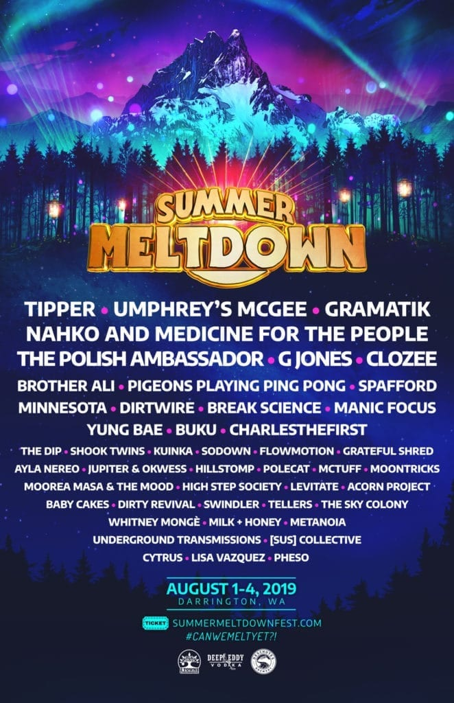 Summer Meltdown 2019- Where The Music Meets The Mountain!