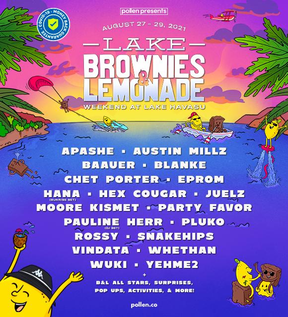 Lake Brownies and Lemonade