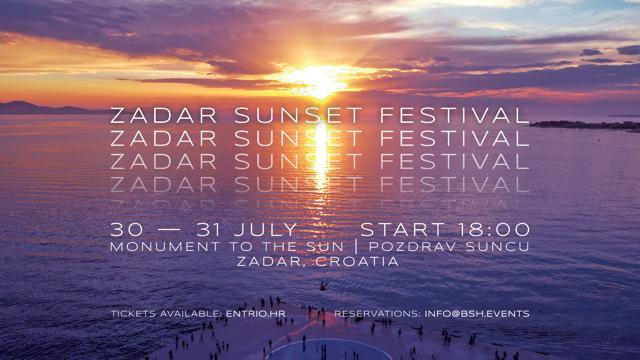 zadar sunset festival
